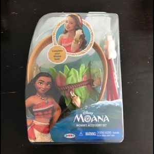 New Disney Moana Accessories- Headband & Bracelet